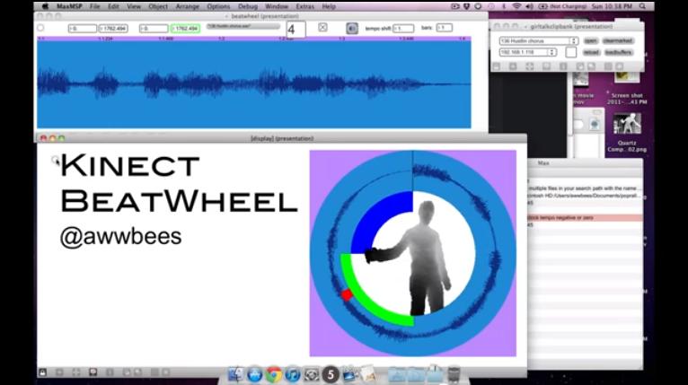 Kinect BeatWheel