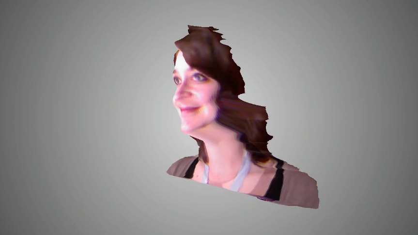 Kinect 3D Face Morphing Processing Sketch