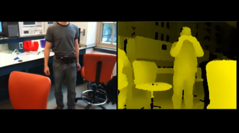 Kinecthesia - Obstacle Detection Belt for the Blind