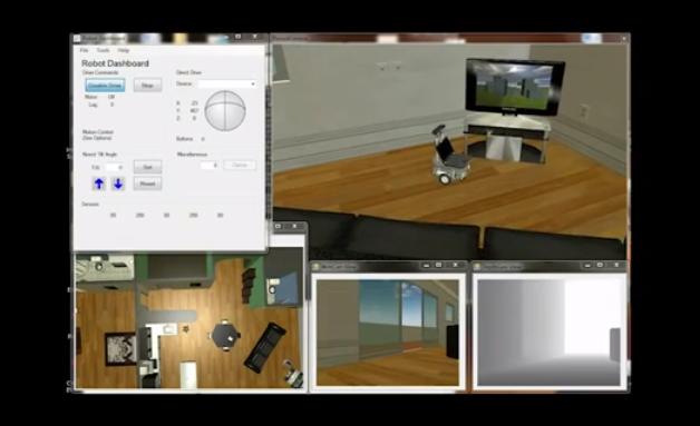 Microsoft Robotics Developer Studio 4 with Kinect Support