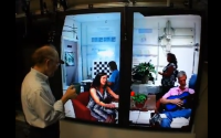 Life Sized Telepresence Using 10 Kinects