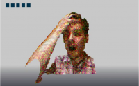 Kinect 3D Face Scanning Processing Sketch