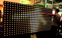 Kinect Interactive Light Display