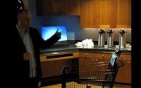 Kinect Grocery Cart
