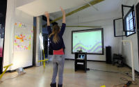 Kinect Wings with Processing, OSC and Arduino