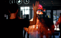 Interactive Puppet Display using openFrameworks and Unity 3D