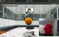 Kinect Free Throw Game using ZigFu and Unity