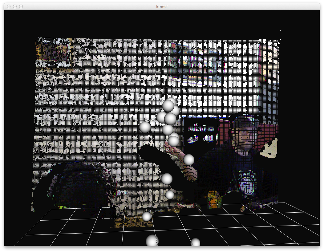 Kinect + Processing Visual Effect Generator | Develop Kinect